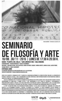 SeminarioFiloArte_Cartel2015